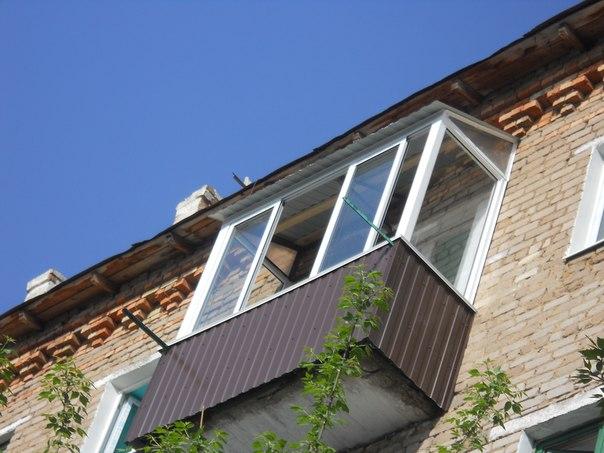 Остекление балконов и лоджий евроалюминием системы provedal .